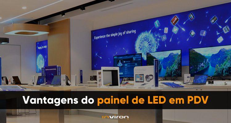 Painel de LED em PDV